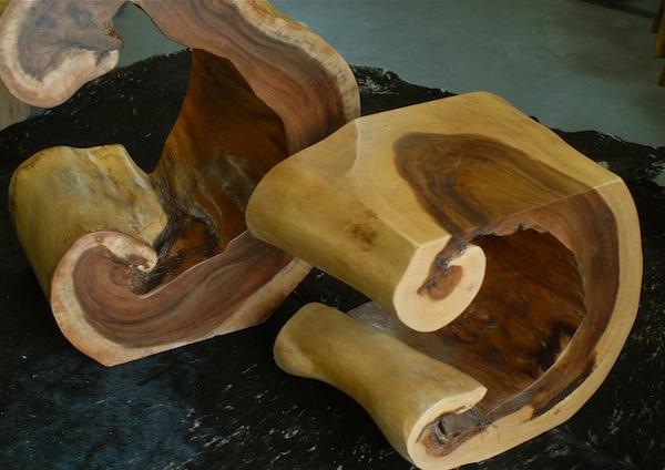 Sideboard holz beistelltisch h 72cm podest console regal for Regal treibholz