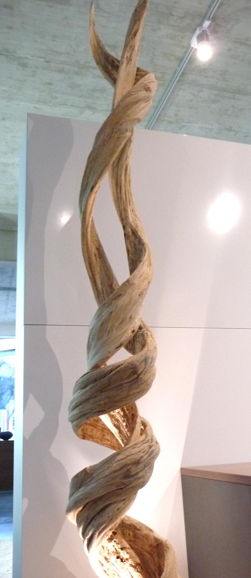 Lampe stehlampe holz gigant 230 cm schwemmholz treibholz wurzelholz teak - Lampe liane bouroullec ...