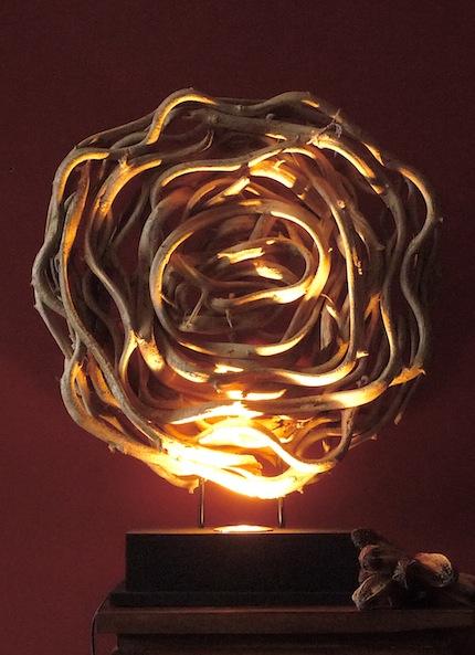 lampe stehlampe leuchte schwemmholz treibholz. Black Bedroom Furniture Sets. Home Design Ideas