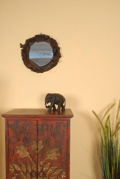 spiegel aus holz wandspiegel schwemmholz treibholz. Black Bedroom Furniture Sets. Home Design Ideas